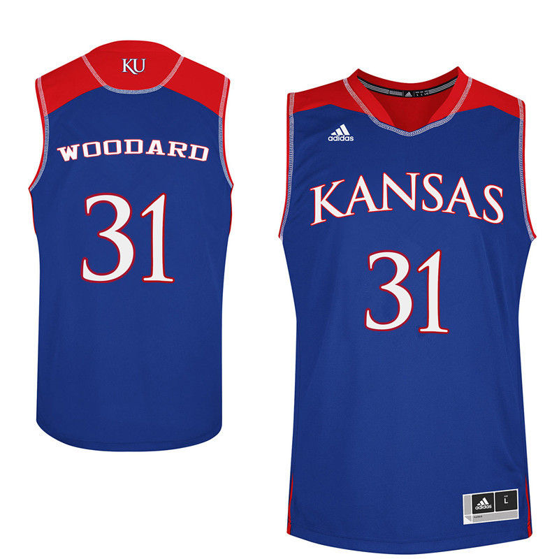 Men Kansas Jayhawks #31 Lynette Woodard College Basketball Jerseys-Royals
