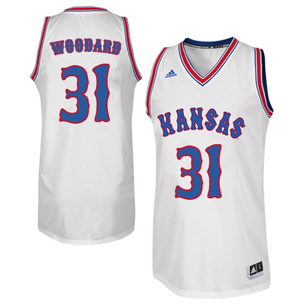 Men #31 Lynette Woodard Kansas Jayhawks Retro Throwback College Basketball Jerseys Sale-White